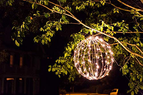 Outdoor Led Ball Lights White in US - 5