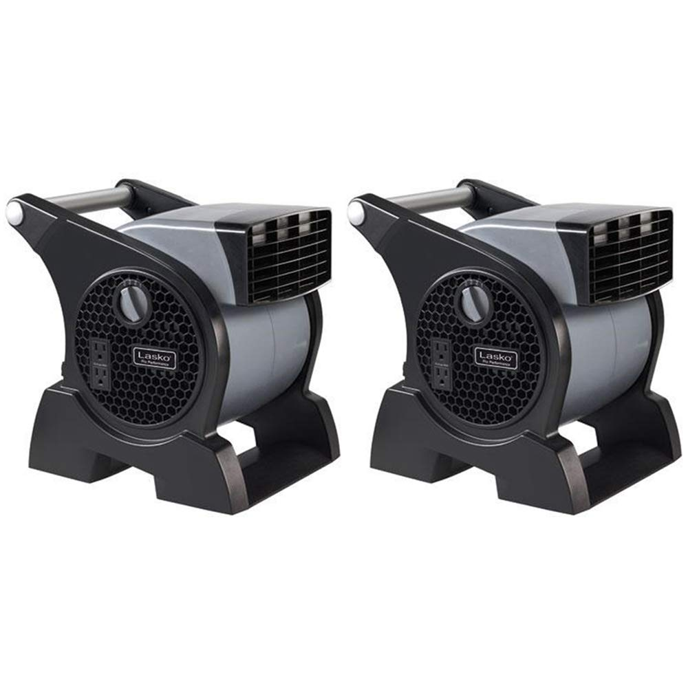 Lasko Pro-Performance High Velocity Utility Fan 2 Pack