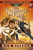 The Throne of Fire: The Graphic Novel (The Kane Chronicles Book 2) (Kane Chronicles Graphic Novels)