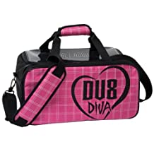 Brunswick DV8 Diva Double Tote Bowling Bag with Shoe Pouch