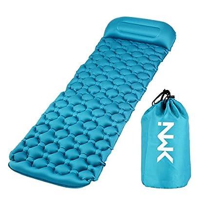 Amazon.com: NWK - Almohadilla hinchable para camping ...