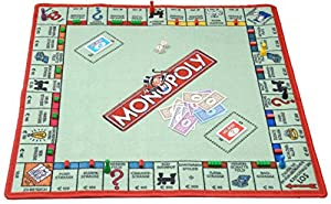 SPIELTEPPICH Monopoly Kinderteppich
