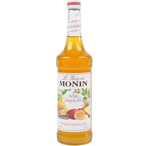 Review Monin Flavored Syrup, White