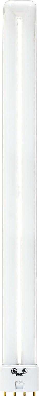 GE Energy Smart CFL Light Bulb, Double Tube Biax Light Bulb, T5 Light Bulb, 40-Watt, 2900 Lumen, Sunshine, 2G11 4-Pin Base, 1-Pack, Compact Fluorescent Light Bulb