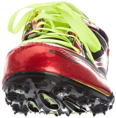 Brooks Heren Pr Md 46.61 Spikes Rups Schoen, Rood, 13 Dm Us