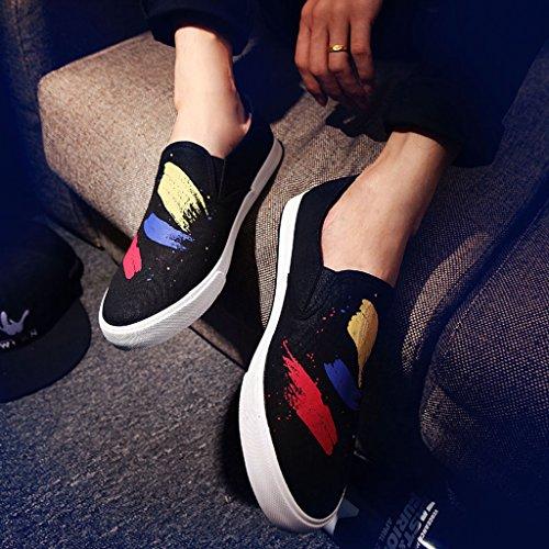 basse da uomo pedale uomo da coreano scarpe casual un stile Scarpe di traspiranti Size estive 42 Black scarpe pigri tela Espadrillas scarpe scarpe uomo Black YaNanHome da in Scarpe Color 1Bv5xnq