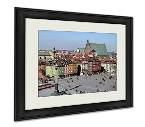 Ashley Framed Prints Overview Of The Old Town In Warsaw, Wall Art Home Decoration, Color, 34x40 (frame size), AG5924674 by Ashley Framed Prints