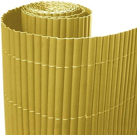 Italfrom - Valla de caña de bambú (PVC, individual, 200 x 300 cm ...