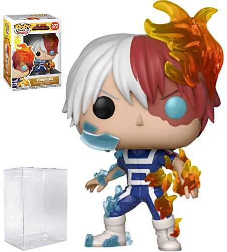 Funko Pop! Anime: My Hero Academia - Todoroki Vinyl Figure (Includes Compatible Pop Box Protector Case)