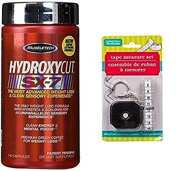 ¡Hydroxycut SX7 140 tapas con cinta métrica gratis!