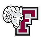 Fordham Extra Large Decal 'F w/Ram Head'