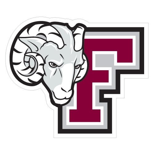 Fordham Extra Large Decal 'F w/Ram Head' by CollegeFanGear