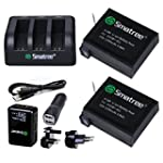 Smatree� Battery (2-Pack) and 3-Chann...