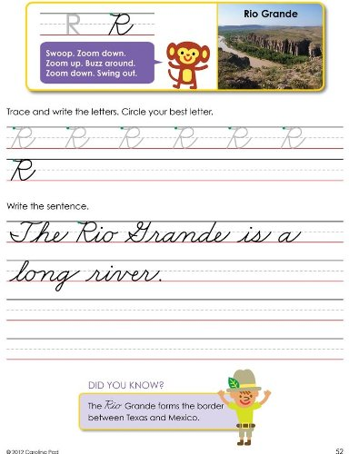 Fundanoodle I Can Write Cursive Writing Tablet 93399 9 x 12 Inches Ages 7 and Up