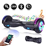 EPCTEK Hoverboard Self Balancing Scooter Hover Board for Kids Adults with UL2272 Certified,LED Lights,Bluetooth Speaker and Carrying Bag