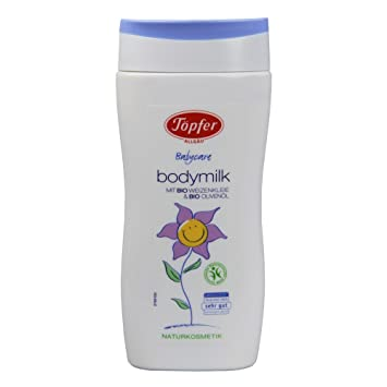 Töpfer Babycare Bodymilk, 200 ml: Amazon.de: Beauty