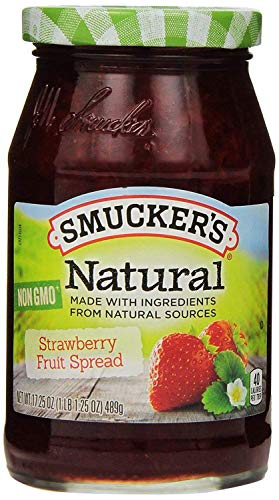 (Smucker's Natural Strawberry Fruit Spread 17.25 oz)