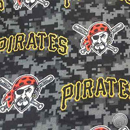 - Pittsburgh Pirates Fleece Fabric by The Yard