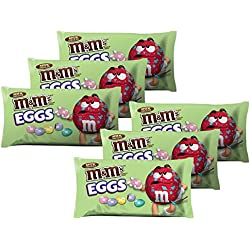 M&M's Chocolate Candies Speckled Eggs, Milk Chocolate, 10.9-Ounce Packages (Pack of 6)