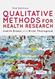 Cover of Qualitative Methods for Health Research (Introducing Qualitative Methods series)