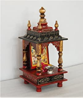 Buy Chave India Home Temple Wooden Temple Pooja Mandir