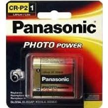 4 x Panasonic CR-P2 (223A) 6 Volt Lithium Batteries (On a Card)