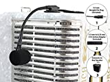 D\'Luca Accordion Wired Microphone with 9 Feet Cable and Active Adapter