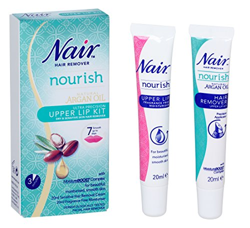 Nair Hair Remover Natural Argan Oil Upper Lip Kit 20ml Buy