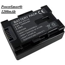 PowerSmart\xae 3.60V 1200mAh Camcorder battery for JVC BN-VG114AC BN-VG107U GZ-HM215AC GZ-E505B GZ-E200