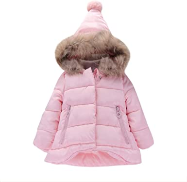 SUNNY Store Hooded Coat Cloak Jacket Girl Boy Winter Thick Warm Outfits