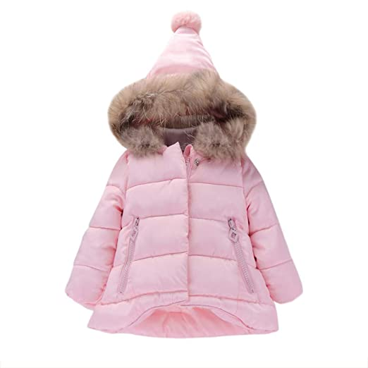 34df2d14d659 Amazon.com  Rosiest Baby Girls Boys Kids Jacket Coat Autumn Winter ...
