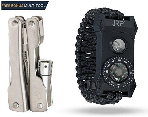 JRP Outdoors Survival Bracelets – Paracord Bracelet – Co