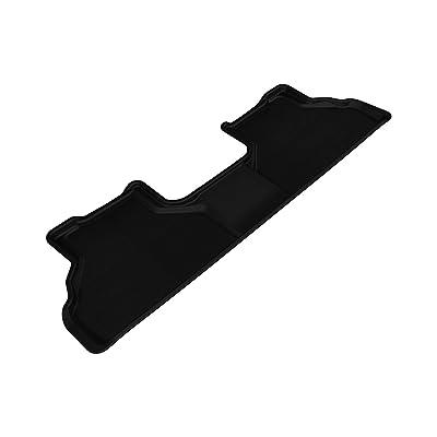 3D MAXpider Second Row Custom Fit All-Weather Floor Mat for Select BMW X5 (E70)/ X6 (E71) Models - Kagu Rubber (Black): Automotive