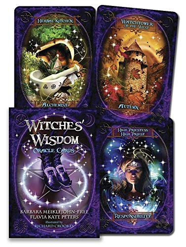 Draw A Halloween Witch (Witches' Wisdom Oracle Cards)