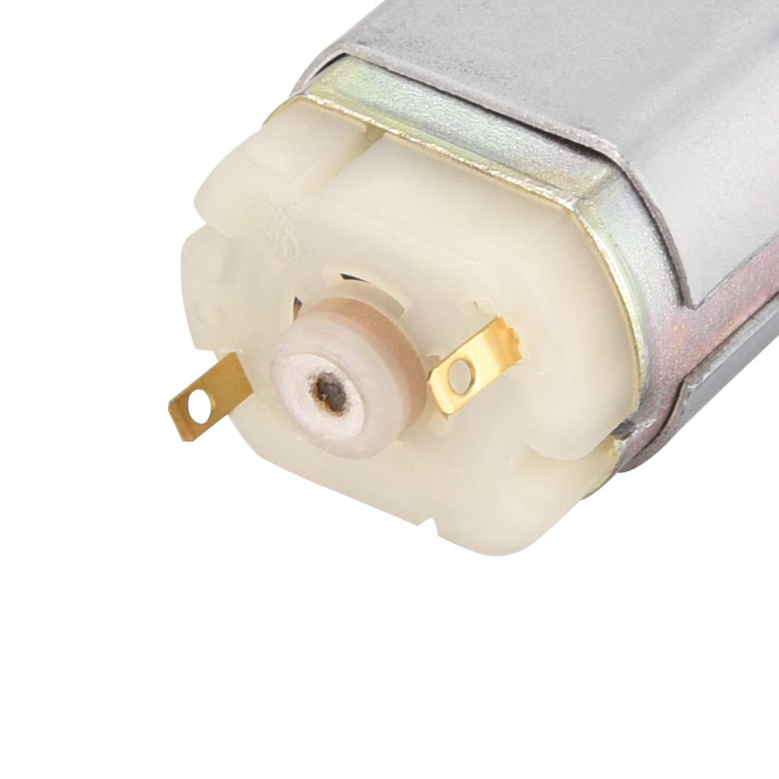 uxcell DC Motor 7.2V 20000RPM 1.9A Electric Motor D Shaft for RC Boat Toys Model DIY Hobby