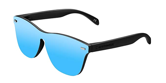 NORTHWEEK Regular Phantom Matte Black/Ice Blue Polarized - Gafas de sol
