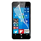 HR Wireless Screen Protector for Nokia Lumia 650 - Retail Packaging - Clear