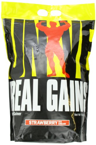 Real Gains Weight Gainer with Complex Carbs and Whey-Micellar Casein Protein Matrix by Universal Nutrition
