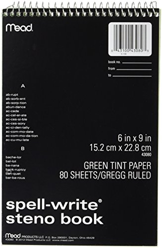Mead 80CT Steno Notebook (43080)