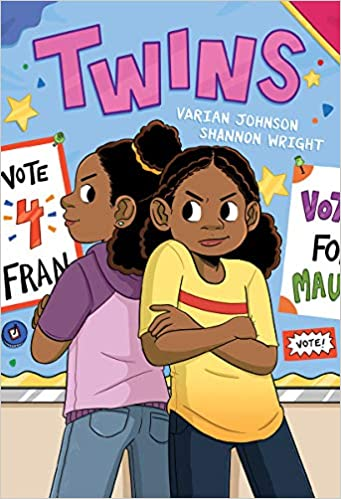 Twins: A Graphic Novel (1): Johnson, Varian, Wright, Shannon:  9781338236170: Amazon.com: Books
