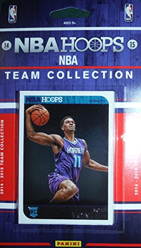 - Charlotte Hornets 2014 2015 Hoops Basketball Brand New Factory Sealed 11 Card NBA Licensed Team Set Formerly Bobcats