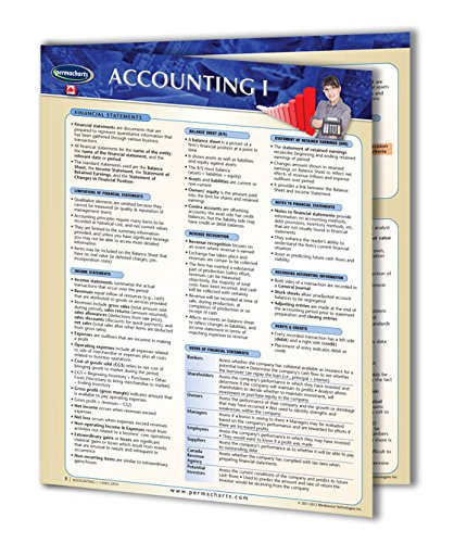 Accounting I Guide - Canadian Business Accounting Quick Reference Guide by Permacharts