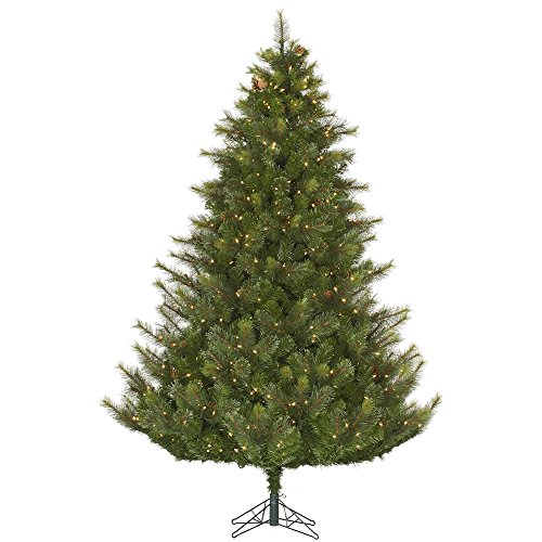 Mixed Pine Artificial Tree (Vickerman 45' Modesto Mixed Pine Artificial Christmas Tree with 250 Clear lights)