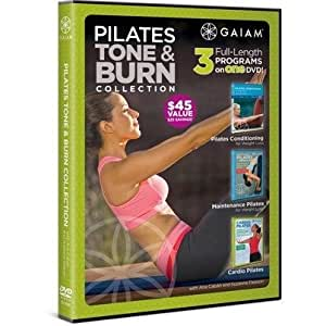 Gaiam Pilates Tone & Burn Collection - 3 Workouts On 1 DVD