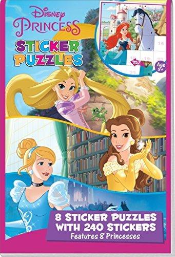 Disney Princess Sticker Puzzle Book (Original Version) ()