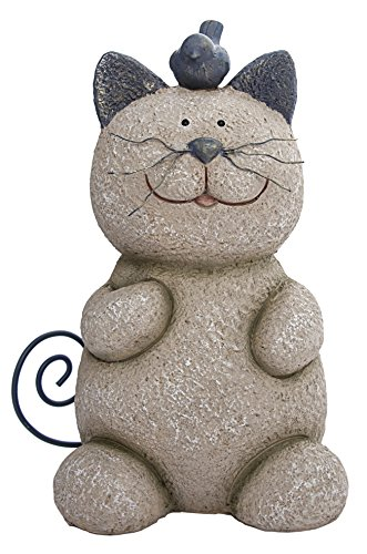 Whiskers the Cat Statue – Bring a Bit of Whimsy to Your Patio or Garden