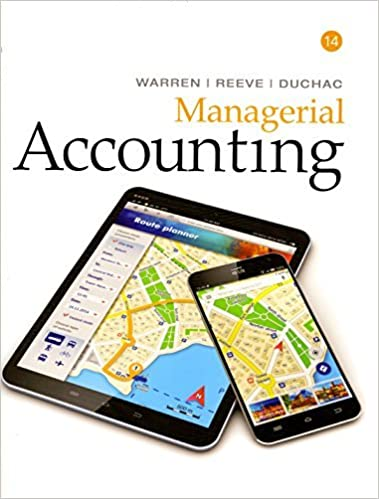 Managerial Accounting Garrison 14th Edition Pdf