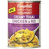 Campbell's Everyday Gourmet Creamy Thai Chicken and Rice, 540ml, 24 Count