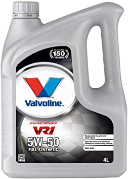 Valvoline Motoröl Motorenöl Motor Motoren Öl Motor Engine Oil Benzin Vr1 Racing 5w 50 Rallye 4l Auto