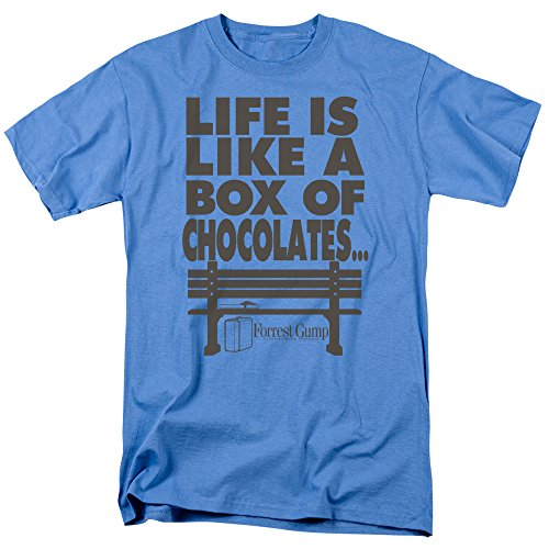2Bhip Forrest Gump Romance Comedy Drama Movie Box of Chocolates Adult T-Shirt Tee -